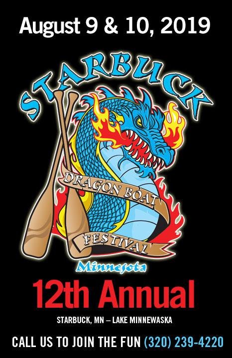Starbuck Dragon Boat Race Poster 2019